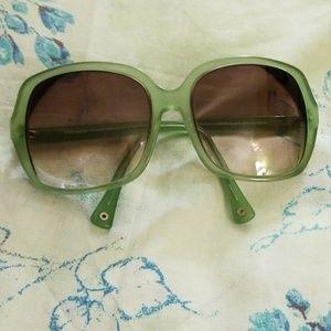 Coach prescription sunglasses antique green